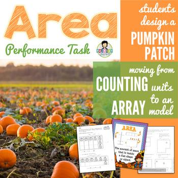 Area Performance Task *Pumpkin Patch