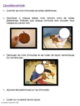 Pumpkin Patch Art - Champs de citrouilles - Arts plastiques