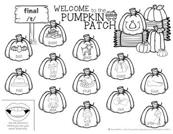 Pumpkin Patch Articulation Bundle! {Fall, Autumn}