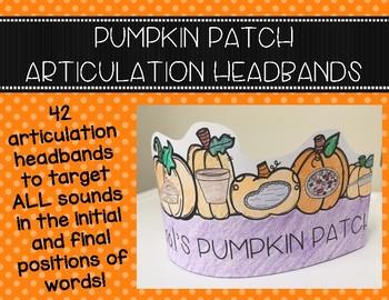 Pumpkin Patch Articulation Headbands