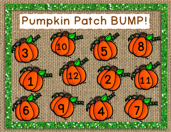 Pumpkin Patch BUMP mat
