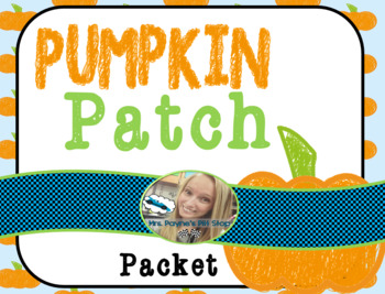 Pumpkin Patch Activities
