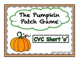 Pumpkin Patch Short Vowel Word Reading Game - CVC short 'o'