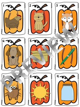 Pumpkin Patch CVC words