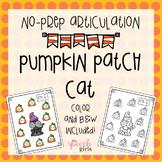 Pumpkin Patch Cat No-Prep Articulation