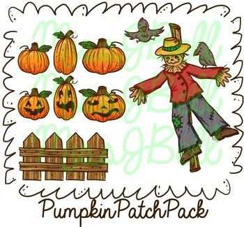 Pumpkin Patch Clip Art Pack