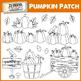 Pumpkin Patch Clip art Thanksgiving Halloween Autumn Clipart Fall Season