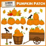 Pumpkin Patch Clip art Thanksgiving Halloween Autumn Clipa
