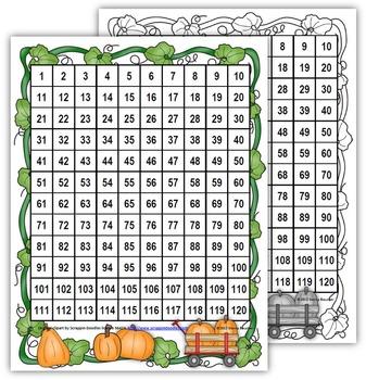 Pumpkin Patch Closest to 100 Math Game