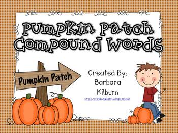 Pumpkin Patch Compound Words