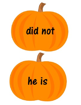 Pumpkin Patch Contractions