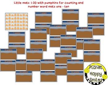Pumpkin Activity ~ Pumpkin Patch Counting Activities, Poem & Worksheets