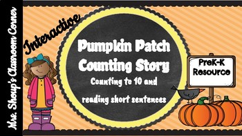 Pumpkin Patch Counting Activity