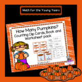 Pumpkin Patch Counting Clip Cards, Poster, Book, and Works