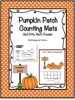 Pumpkin Patch Counting Mats and Emergent Reader
