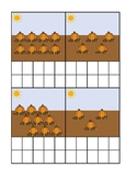 Pumpkin Patch Counting Ten Frame Activity