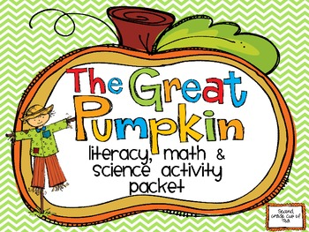 Pumpkin Patch Craftivity Activity