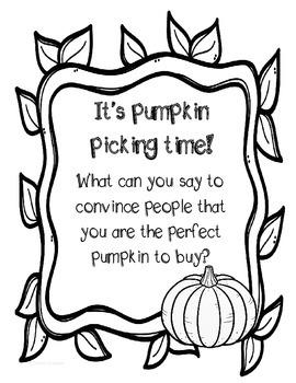 Pumpkin Patch Creative Writing
