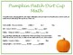 Pumpkin Patch Dirt Cup Math