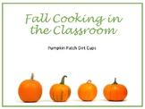 Pumpkin Patch Dirt Cup Math