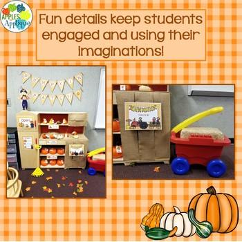 Pumpkin Patch Dramatic Play Center