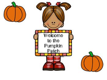 Pumpkin Patch Dramatic Play Kit
