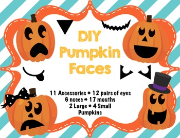 Pumpkin Patch Dramatic Play with Printable Pumpkins and Decorating Accessories