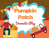 Pumpkin Patch Dramatic Play with Printable Pumpkins and De