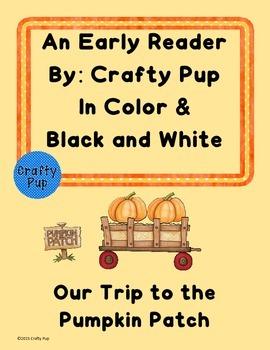 Pumpkin Patch Early Reader