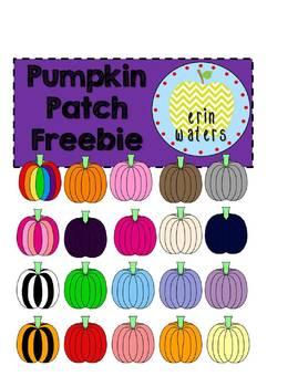 Pumpkin Patch FREEBIE