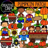 Pumpkin Patch: Fall Clipart {Creative Clips Clipart}