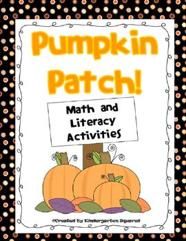 Pumpkin Patch!  Fall Math and Literacy Activities with Pumpkins