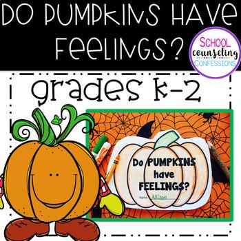 Pumpkin Feelings Activity Packet & Pumpkin  Feelings Match