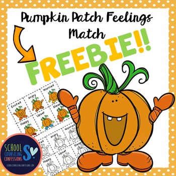 Pumpkin Feelings Match- FREE!!!