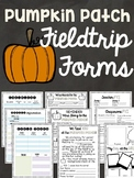Pumpkin Patch Field Trip Permission Slips, Chaperone Info, and More!