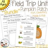 Pumpkin Patch Field Trip Unit - Bundle