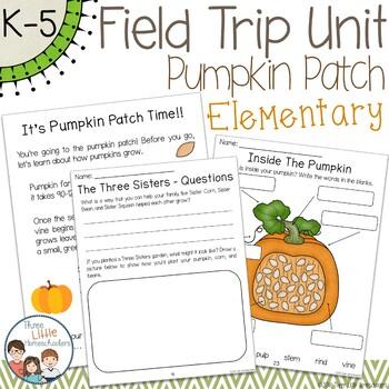 Pumpkin Patch Field Trip Unit - Elementary School