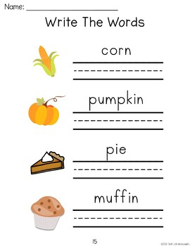 Pumpkin Patch Field Trip Unit - PreK Preschool and Kindergarten
