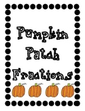 Pumpkin Patch Fractions (Common Core Fractions)