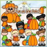 Pumpkin Patch Fun Clip Art - Autumn - Fall Clip Art - CU C