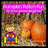 Pumpkin Patch Fun for Pre-K and Kindergarten