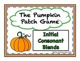 Pumpkin Patch Game - Short Vowel Initial Consonant Blends