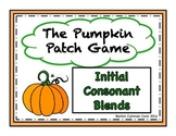 Pumpkin Patch Game - Short Vowel Initial Consonant Blends