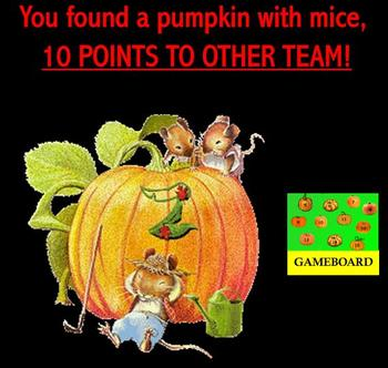 Pumpkin Patch Game Template SMARTBOARD