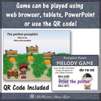 Pumpkin Patch - Interactive Melody Game (Do Re Mi)