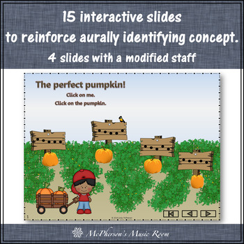Fall Music Game: Do Re Mi Interactive Melody Game {Patch}