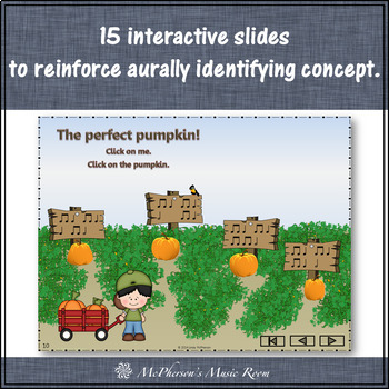 Fall Music Game: Half Notes Interactive Rhythm Game {Patch}