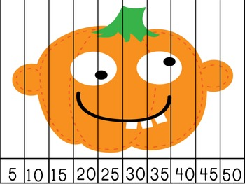 Pumpkin Patch JUMBO Pack Number Puzzles