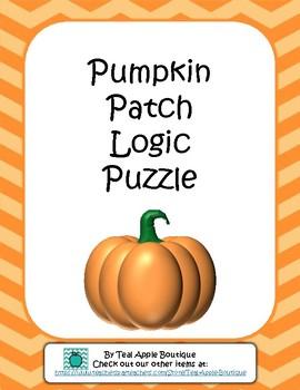 Pumpkin Patch Logic Puzzle