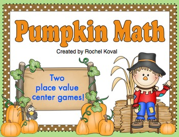 Place value - Pumpkin Math